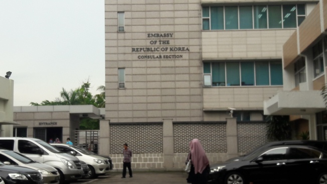 Consular Section, Embassy of South Korea